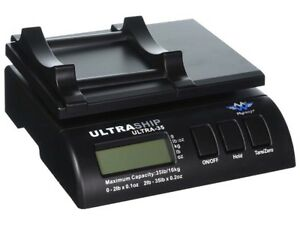 My Weigh Ultraship 35 Lb Electronic Digital Shipping Scale Black Scmultra35blk