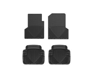 Weathertech All Weather Floor Mats For Jeep Wrangler 1997 2006 1st 2nd Row Black