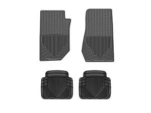 Weathertech All weather Floor Mats For Jeep Wrangler 2007 2013 1st 2nd Row Black