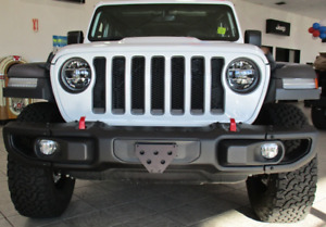 Quick Release Front License Plate Bracket For Jeep Wrangler Jl 2018 2019 New