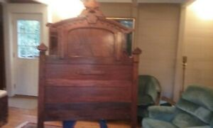 Victorian Era Full Size Bed Frame