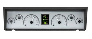 Dakota Digital 77 90 Chevy Caprice Impala Analog Gauges Kit Silver Hdx 77c Cap S