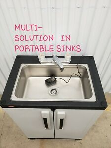 Portable Sink Mobile Handwash Sink Self Contained Cold Water Concession 110v
