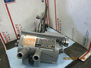 Atlas Craftsman 12 Commercial Lathe Quick Change Assembly