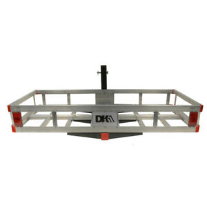 Detail K2 Hcc502a Hitch mounted Aluminum Cargo Carrier New