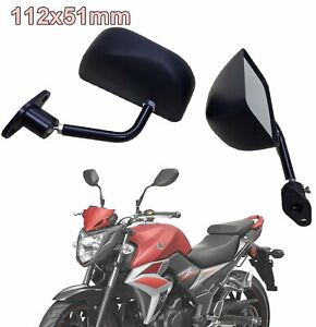F3 Style Black Abs Racing Side Mirror Civic Accord Crx Rsx Nsx S2000 Fit Crv