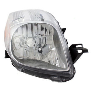 Fits Toyota Yaris 07 08 Hatchback Passengers Headlamp Headlight Lens Assembly