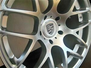 20 inch Porsche Ruger Wheels rims 911 C4s Turbo 996 997 991 Silver 5x130 Lugs