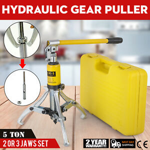 5 Ton Hydraulic Bearing Gear Puller Max Reach Rated Pulling Alloy Steel