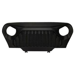 New Autopa Bumper Grille Grill Front For Tuning Jeep Wrangler 1997 2007