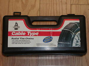 Cable Tire Snow Chains Laclede 1034 205 55 15 205 55 16 215 55r16 225 45zr17