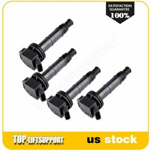 New Ignition Coil Kit Uf333 Fits 2007 2009 Toyota Camry L4 2 4l 4pack