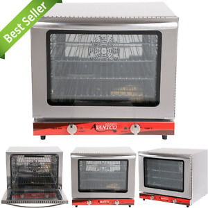 Stainless Steel Countertop Convection Restaurant Oven 1 2 Size Electric 2800w