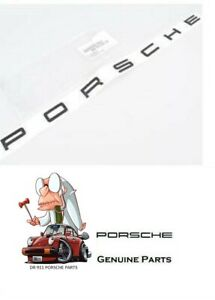 Genuine Porsche Emblem Porsche In Gloss Black Insigna Logo 991 99155923591