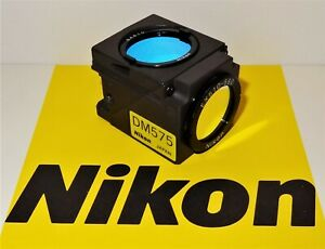 Nikon Green G 2b Fluorescent Microscope Filter Cube For E400 600 Te200 300