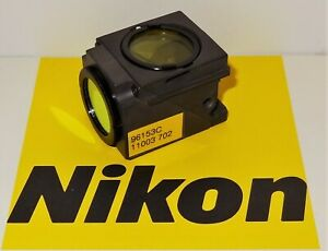 Nikon Blue Violet Bv 2b Fluorescent Microscope Filter Cube For E400 600 Te200 30