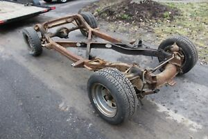 1958 Corvette Original C 1 Rolling Chassis Frame 1956 1957 1959 1960 1961 1962