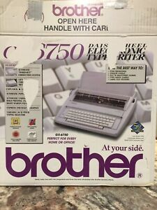 Brother Gx 6750 Electronic Typewriter Tested And Working