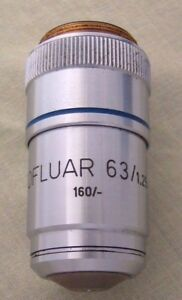 Zeiss Neofluar 63x Oil Objective