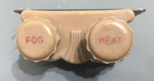 Vtg Nos Heater fog Heat Light Switch Original Everhot 975 Ford Chevy Bomb Mopar