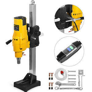 8 Diamond Core Drill Drilling Machine 3980w Feed Crank Rig Motor Diamond Great