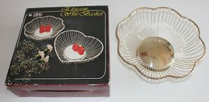New Bread Basket Silverplate Wired Fruit Basket Scalloped International Silver