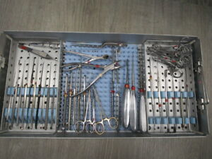 Surgical Ent Ear Nose And Throat Instrumentation Set