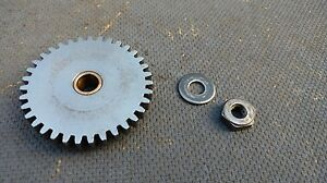 Vintage Logan 10 Metal Lathe Carriage Travel Apron Gear 35 Tooth