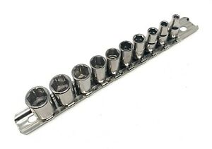 Armstrong Tools 10 Pc Metric 1 4 Dr 6 Point Socket Set Made In Usa