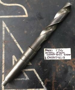 Nachi 1 1 16 M35 Drill Bit Oil Hole Mt Taper 4 Shank Coolant peddinghaus Cab