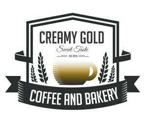 Domain Name Creamy Gold Coffee Brand Name