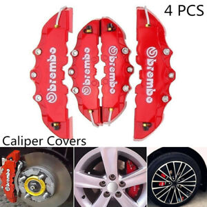 4 X Abs Truck Caliper Cover Car Universal Disc Brake Front Rear Covers Set A2z3