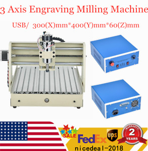 3 Axis 3040 Usb Cnc Router Engraver 3d Cuttrer Wood Carving Engraving Machine