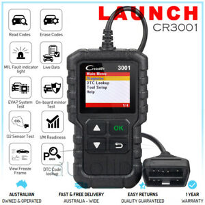 Launch Cr319 Obd2 Engine Fault Code Reader Diagnostic Scanner Tool Fits Subaru