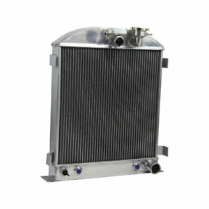 3row Radiator For Chevy engine Ford grill shells 3 chopped 1935 1936 39 40