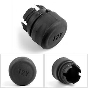 Power Outlet Cigarette Lighter 12v Socket Cover Cap 4l5z 19a487 Aaa For Ford A7