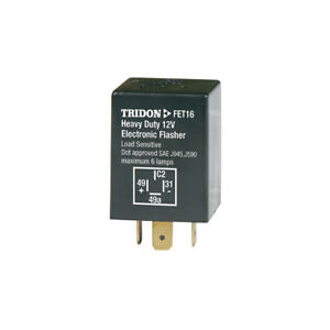 Tridon Flasher Relay Can 12v 4 Pin Fet16