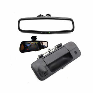 Car Tailgate Backup Camera 4 3 Lcd 2ch Monitor Kit For Toyota Tundra 2010 14