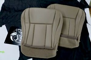 1996 2002 Toyota 4runner Front Seat Bottoms Upholstery Oak Tan M M Leather