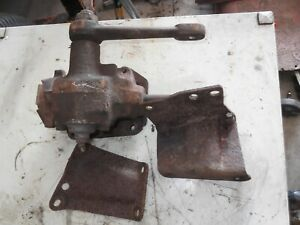 Jeep Cj Manual Steering Box With Brackets