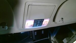 2007 Ford Expedition Roof Console w sunroof Tan Trim Code 1c