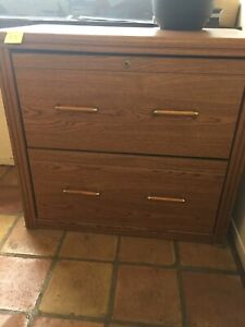 Sauder Wood File Cabinet 2 Drawer Made In Usa pick Up Only