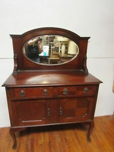 Antique Washstand Commode Dry Sink Vanity Or Small Buffet