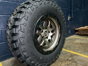 5 17x9 5 Black Rhino Barstow 33 Mt Wheel Tire Package Jeep Wrangler Jk Jl