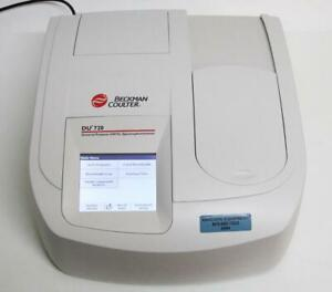 Beckman Coulter Du 720 Uv visible Spectrophotometer 700 Series Low Lamp Hrs 6584