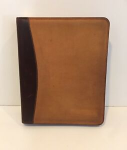 Vtg Franklin Covey Classic Grand Canyonland Leather Planner Binder Rare Aged