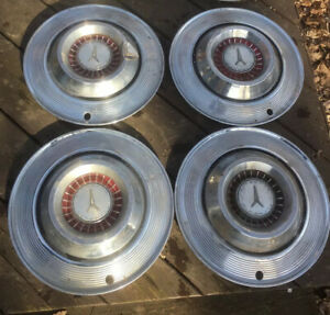 1964 Plymouth Fury Belvedere 14 Wheel Covers Hubcaps 64 Mopar Vintage Lot Of 6
