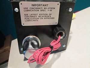 Way Lube Pump For Cincinnati Machine W Lincoln 87214 Lubrication Pump new