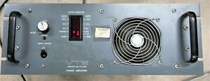 Vts Vibration Test Systems Amplifier For Vibration Shaker Wayne Pauly Pa 600
