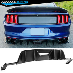 Fits 15 17 Ford Mustang 2 Door Hpe700 Hpe750 Pp Rear Diffuser 3pc